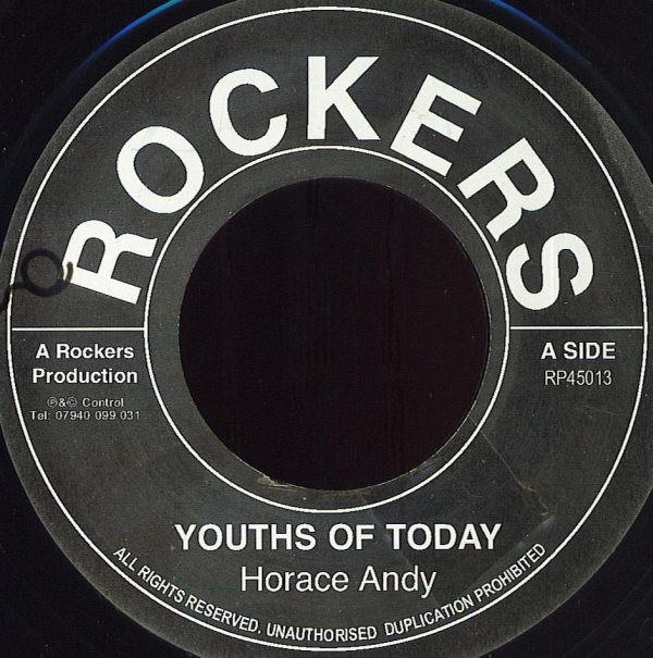 Horace Andy : Youths Of Today | Single / 7inch / 45T  |  Oldies / Classics