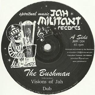 The Bushman : Visions Of Jah | Maxi / 10inch / 12inch  |  UK