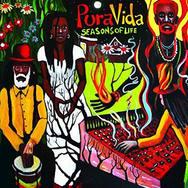 Pura Vida Ft Lee Perry Ashanty Roy + Jah9 : Seasons Of Life | LP / 33T  |  Dancehall / Nu-roots