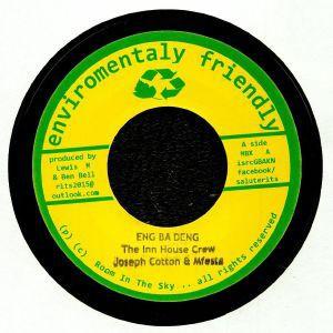 The Inn House Crew, Joseph Cotton, Mfesta : Eng Ba Deng | Single / 7inch / 45T  |  Dancehall / Nu-roots