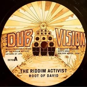 The Riddim Activist : Root Of David   Single / 7inch / 45T     UK