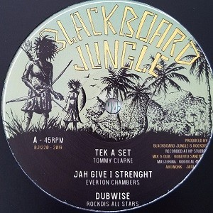 Tommy Clarke : Tek A Set | Maxi / 10inch / 12inch  |  UK