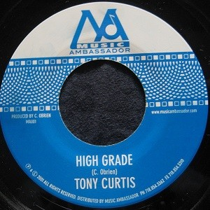 Tony Curtis : High Grade | Single / 7inch / 45T  |  Dancehall / Nu-roots