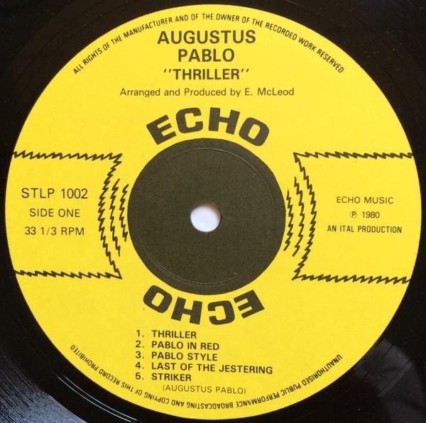 Augustus Pablo : Thriller   LP / 33T     Oldies / Classics
