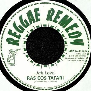 Ras Cos Tafari : Jah Love | Single / 7inch / 45T  |  UK