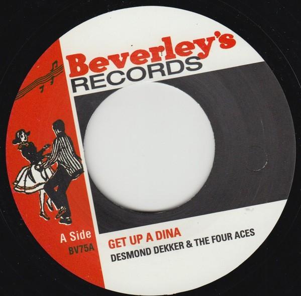 Desmond Dekker : Get Up A Dina   Single / 7inch / 45T     Oldies / Classics