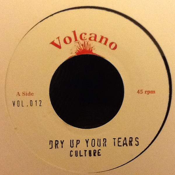 Culture : Dry Up Your Tears