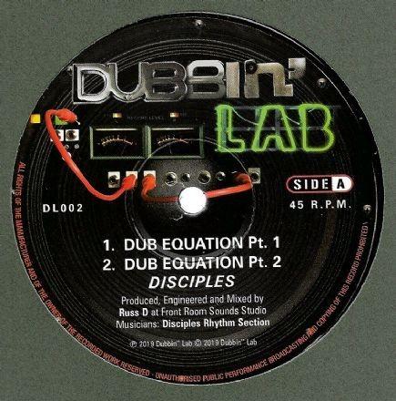 Disciples : Equation Dub Pt 1 | Maxi / 10inch / 12inch  |  UK