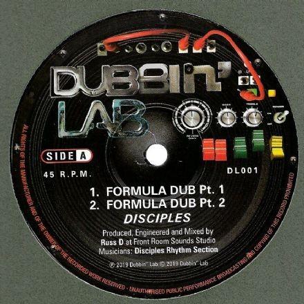Disciples : Formula Dub Pt 1 | Maxi / 10inch / 12inch  |  UK