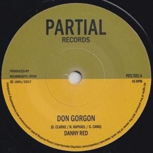 Danny Red : Don Gorgon | Single / 7inch / 45T  |  UK