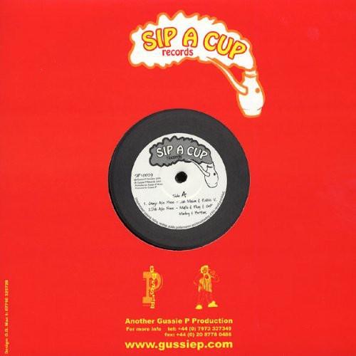 Jah Mason & Robbie V : Ganja Afe Free | Maxi / 10inch / 12inch  |  UK