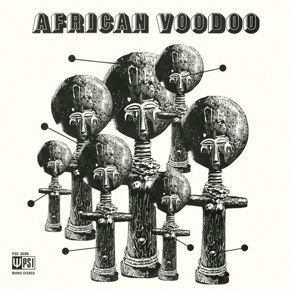Manu Dibango : African Voudoo   LP / 33T     Afro / Funk / Latin