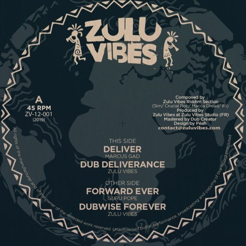 Marcus Gad : Deliver | Maxi / 10inch / 12inch  |  UK