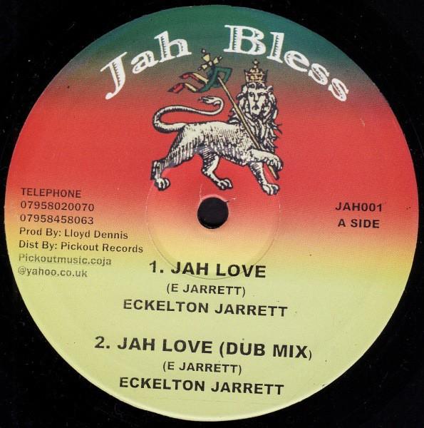 Eckelton Jarrett : Jah Love | Maxi / 10inch / 12inch  |  UK