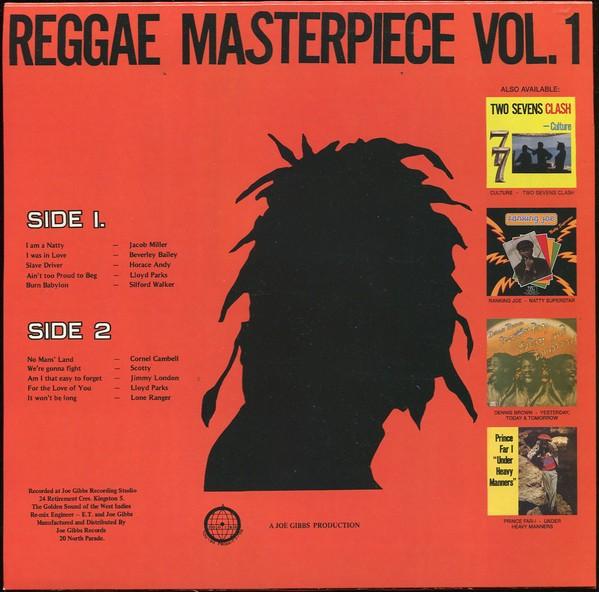 Various : Reggae Masterpiece Vol. 1   LP / 33T     Oldies / Classics