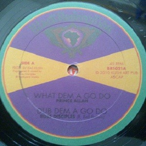 Prince Allah : What Dem A Go Do | Maxi / 10inch / 12inch  |  UK
