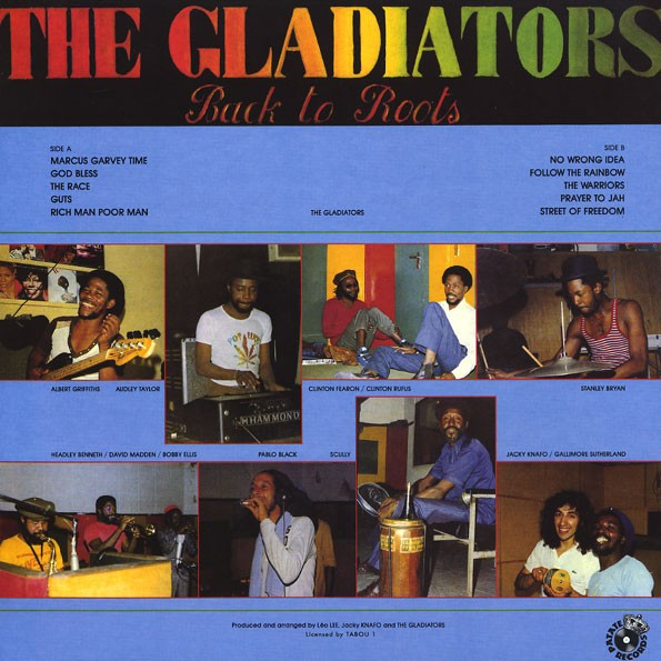 The Gladiators : Back To Roots   CD     Oldies / Classics