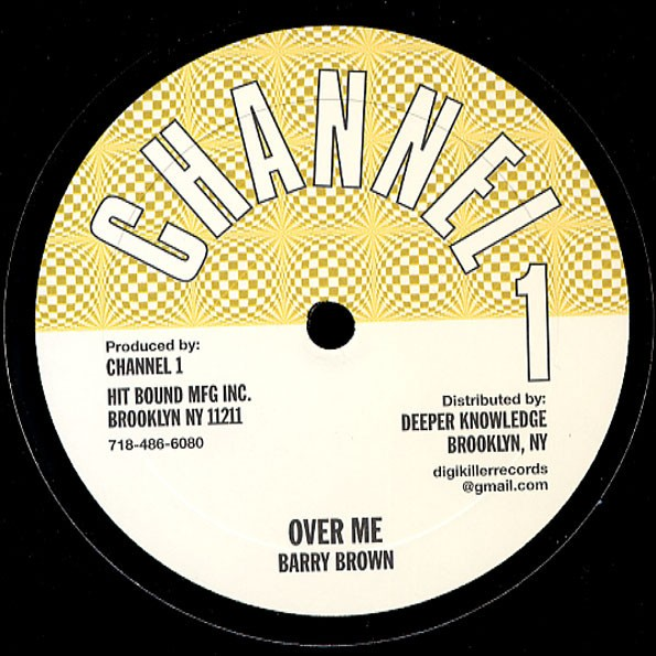 Barry Brown : Over Me | Maxi / 10inch / 12inch  |  Oldies / Classics