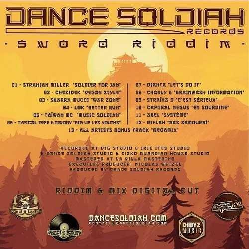 Various : Sword Riddim | LP / 33T  |  Dancehall / Nu-roots