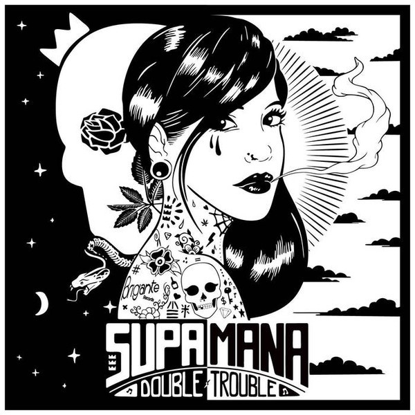 Supa Mana : Double Trouble | CD  |  Dancehall / Nu-roots