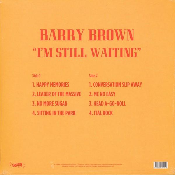 Barry Brown : I'M Still Waiting | CD  |  Oldies / Classics