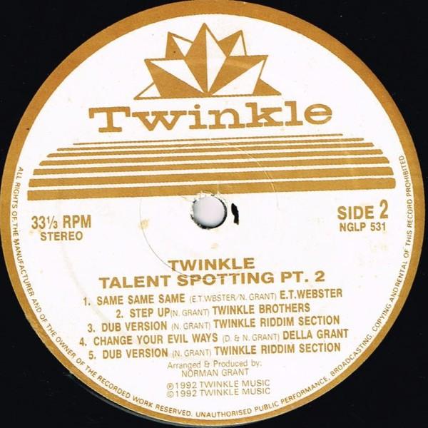 Various : Talent Spotting Pt. 2 ( Red ) | LP / 33T  |  UK
