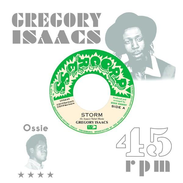 Gregory Isaacs : Storm | Single / 7inch / 45T  |  Oldies / Classics