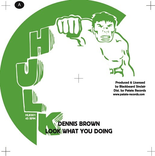 Dennis Brown : Look What You Doing | Single / 7inch / 45T  |  Oldies / Classics