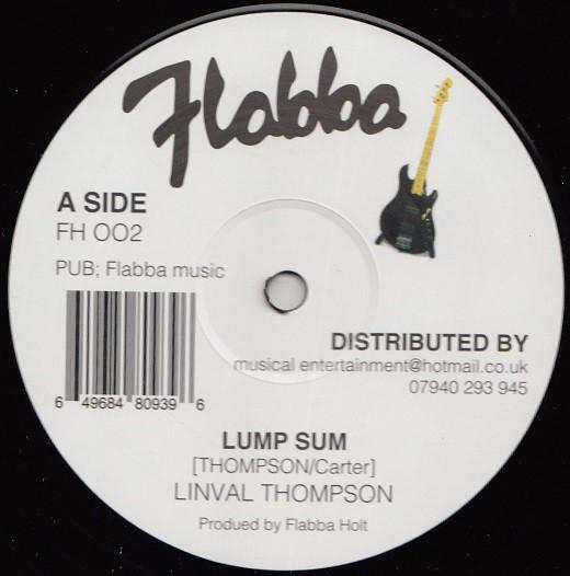 Linval Thompson : Lump Sum | Maxi / 10inch / 12inch  |  Oldies / Classics