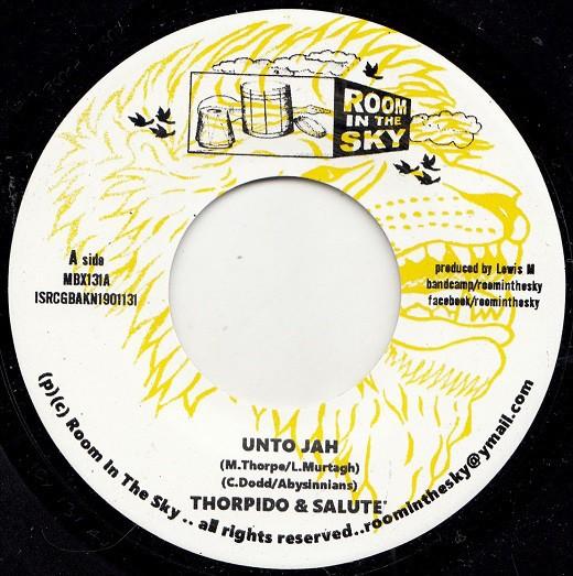 Thorpido & Salute : Unto Jah | Single / 7inch / 45T  |  Oldies / Classics