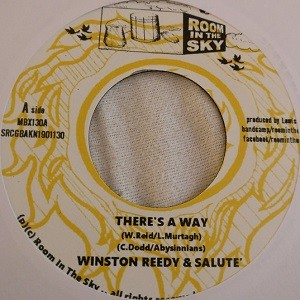 Winston Reedy & Salute : There's A Way | Single / 7inch / 45T  |  Oldies / Classics