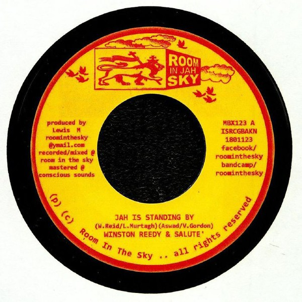 Winston Reedy & Salute : Jah Is Standing By | Single / 7inch / 45T  |  Oldies / Classics