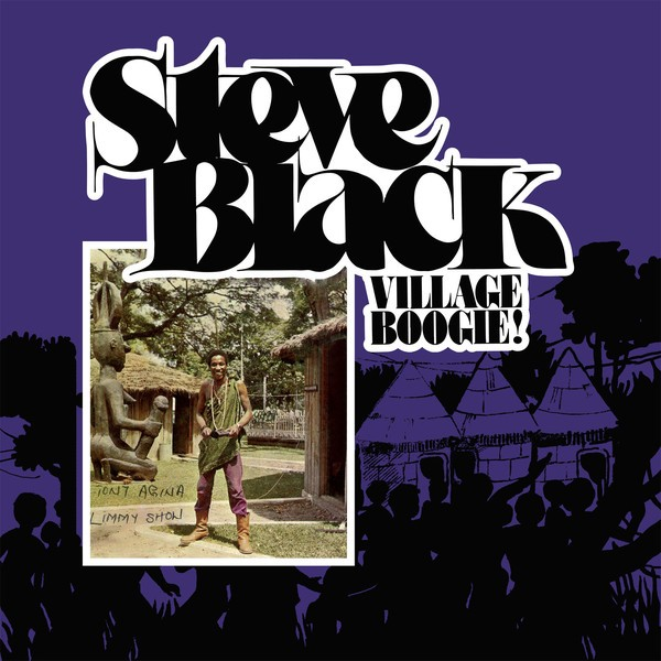 Steve Black : Village Boogie   LP / 33T     Afro / Funk / Latin