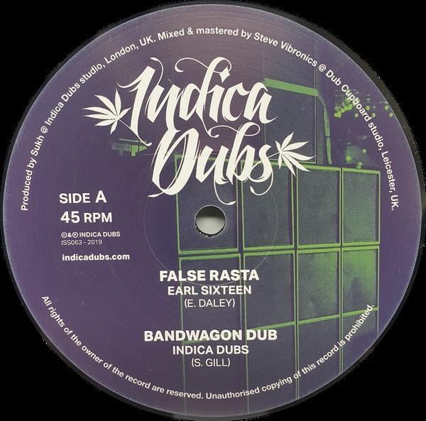 Earl Sixteen : False Rasta   Maxi / 10inch / 12inch     UK