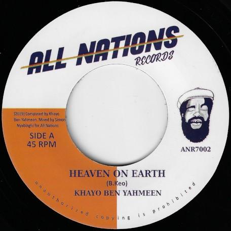 Khayo Ben Yahmeen : Heaven On Earh | Single / 7inch / 45T  |  UK