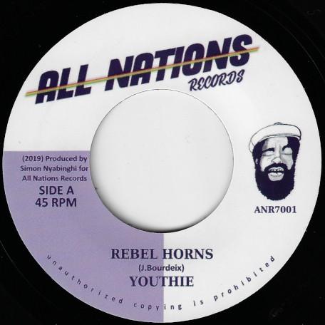 Youthie : Rebel Horns | Single / 7inch / 45T  |  UK