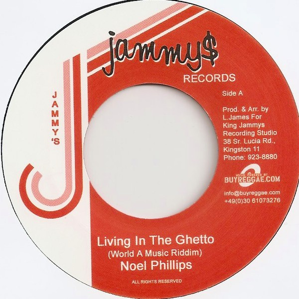 Noel Phillips : Living In The Ghetto | Single / 7inch / 45T  |  Oldies / Classics