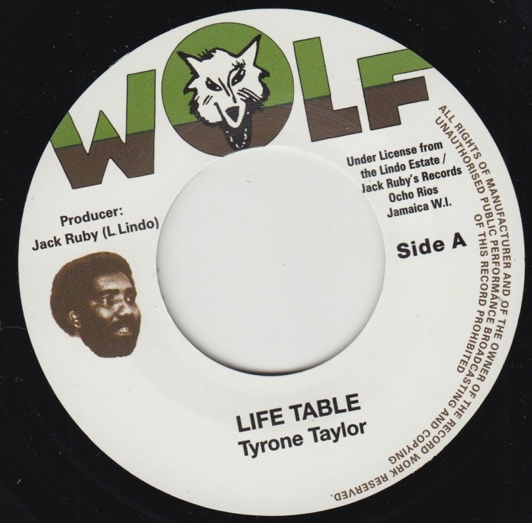 Tyrone Taylor : Life's Table | Single / 7inch / 45T  |  Oldies / Classics