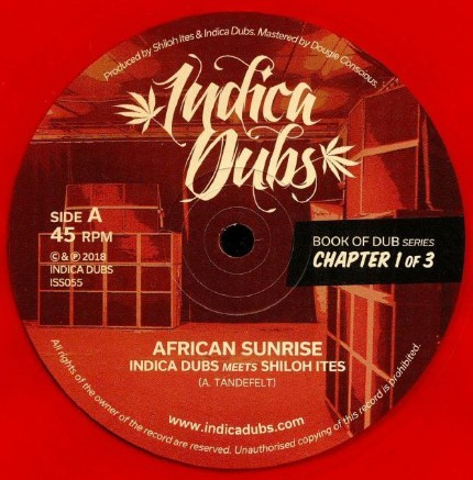 Indica Dubs Meets Shiloh Ites : Book Of Dub Series Chapter 1 of 3 ( Red )   Maxi / 10inch / 12inch     UK