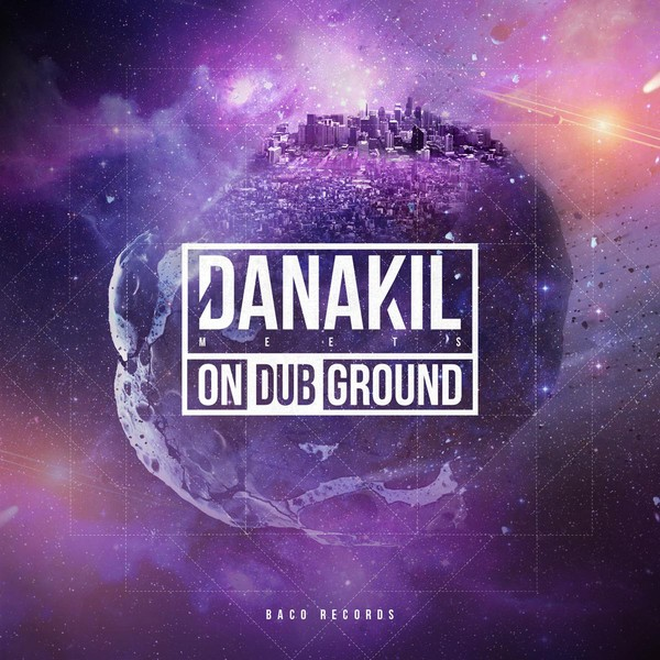Danakil : Meets On Dub Ground   LP / 33T     Dancehall / Nu-roots