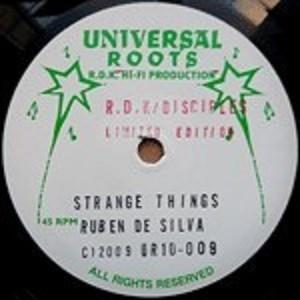 Ruben Da Silva : Strange Things   Maxi / 10inch / 12inch     UK