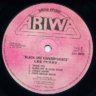 Lee Perry & Mad Professor : Black Ark Experryments   LP / 33T     UK