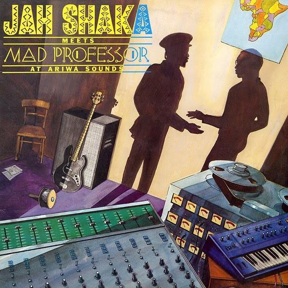 Jah Shaka Meets Mad Professor : At Ariwa Sounds | LP / 33T  |  UK