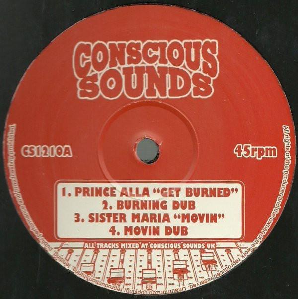 Prince Alla : Get Burned | Maxi / 10inch / 12inch  |  UK