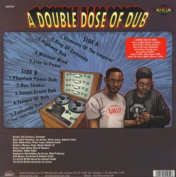 Ashanti Selah Meets Joe Ariwa : A Double Dose Of Dub | LP / 33T  |  UK