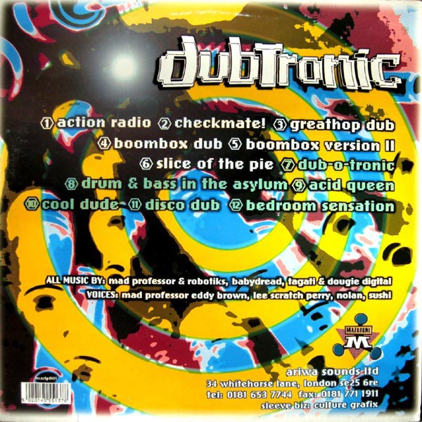 Mad Professor : Dubtronic   LP / 33T     UK
