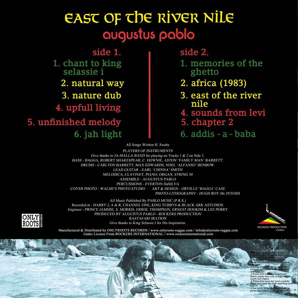 Augustus Pablo : East Of The River Nile | LP / 33T  |  Oldies / Classics
