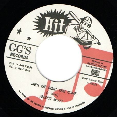 Freddy McKay : When The Right Time Come | Single / 7inch / 45T  |  Oldies / Classics