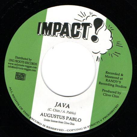Augustus Pablo : Java | Single / 7inch / 45T  |  Oldies / Classics