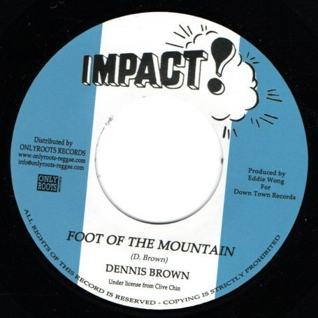 Dennis Brown : Foot of The Mountain | Single / 7inch / 45T  |  Oldies / Classics